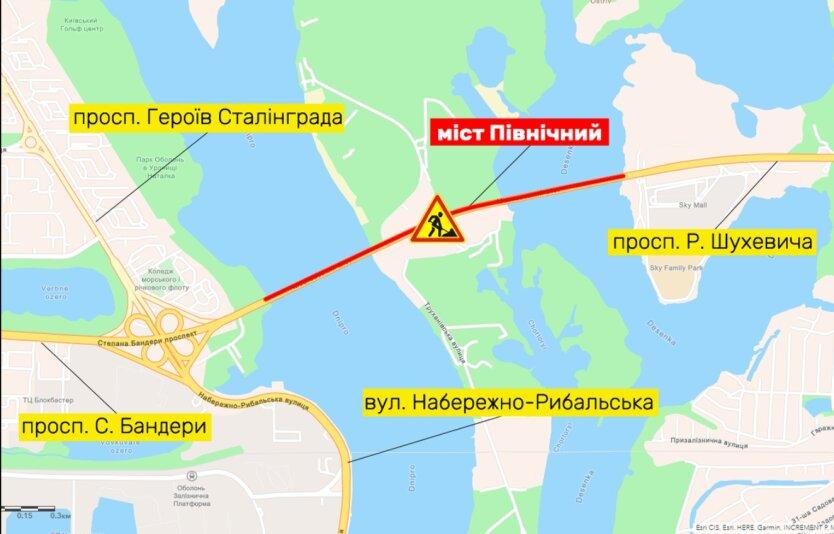 В Киеве частично ограничат движение, - Киевавтодор
