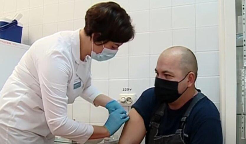 Вакцинация, вакцина, Украина
