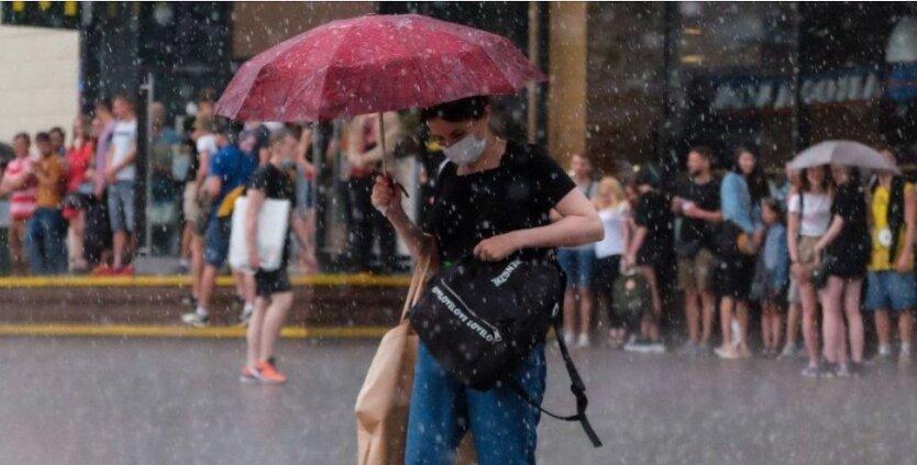 Грозовые дожди в Украине, погода в украине, погода в августе
