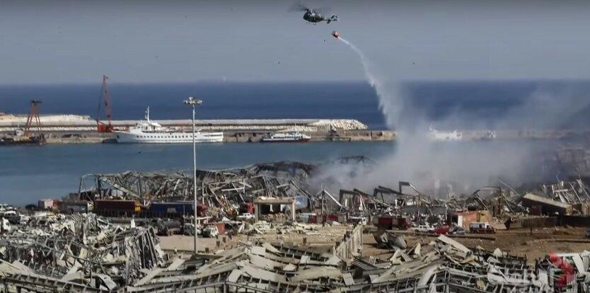 Мишель Аун,Ливан,Расследование катастрофы в Бейруте,Взрыв в порту Бейрута
