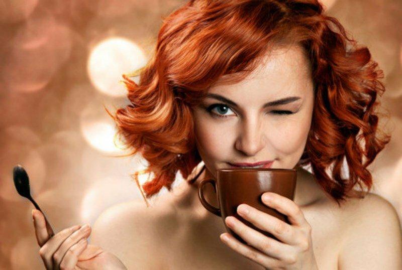кофе девушка