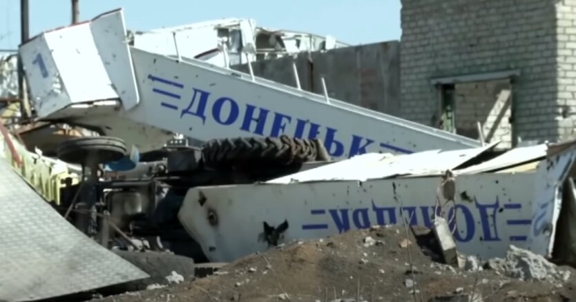 """Донецкий аэропорт, """"киборги"""", боевики"""