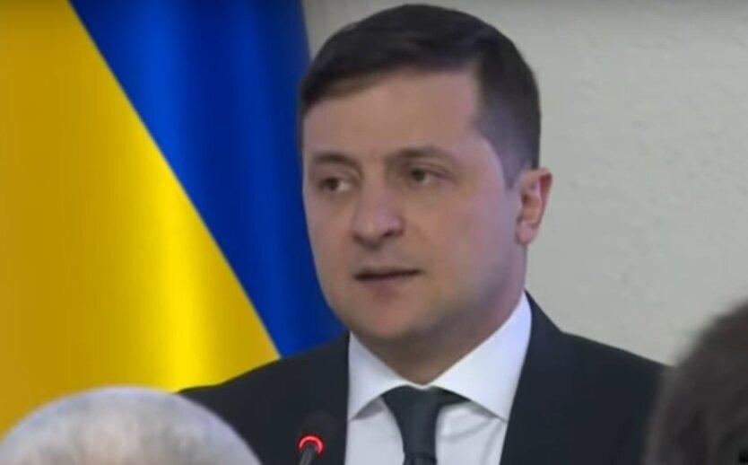 Владимир Зеленский, президент Украины