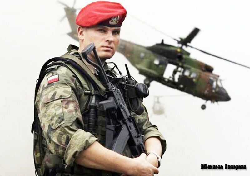армия Польши польский солдат вертолет