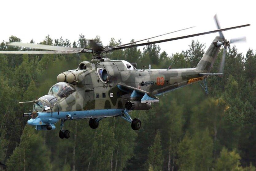Сбит российский вертолет, Вертолет Ми-24, Война в Нагорном Карабахе