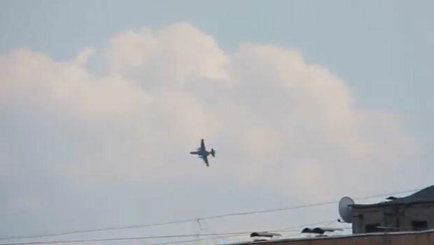 Су-25 над Славянском