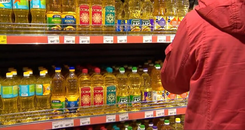 Цены на подсолнечное масло в Украине, Европа, изменение цен