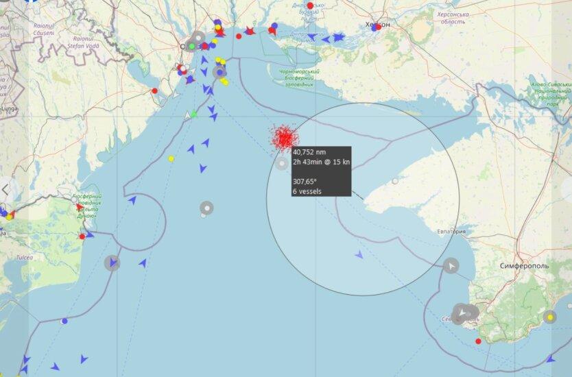 Пограничники ФСБ задержали судно с украинцами