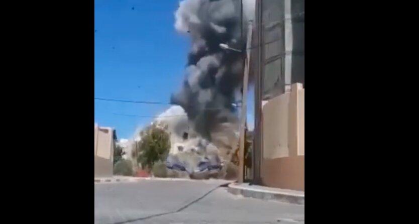 Израиль разбомбил дома командиров ХАМАС: видео