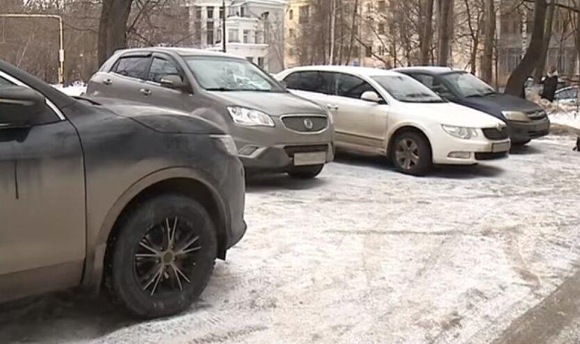 штрафы за парковку в неположенном месте