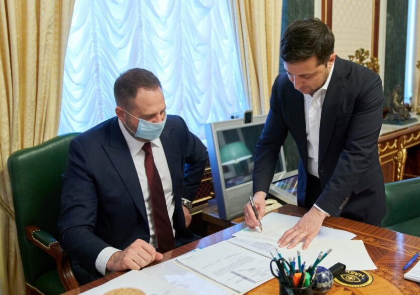 Владимир Зеленский, Андрей Ермак