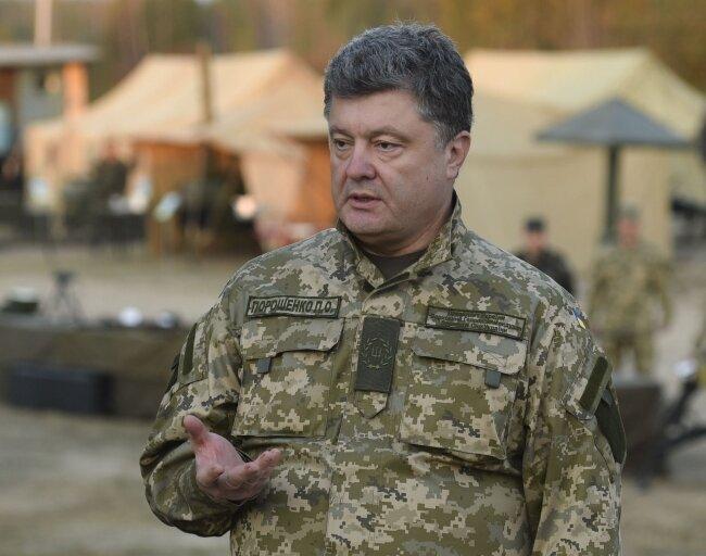 Петр Порошенко армия2