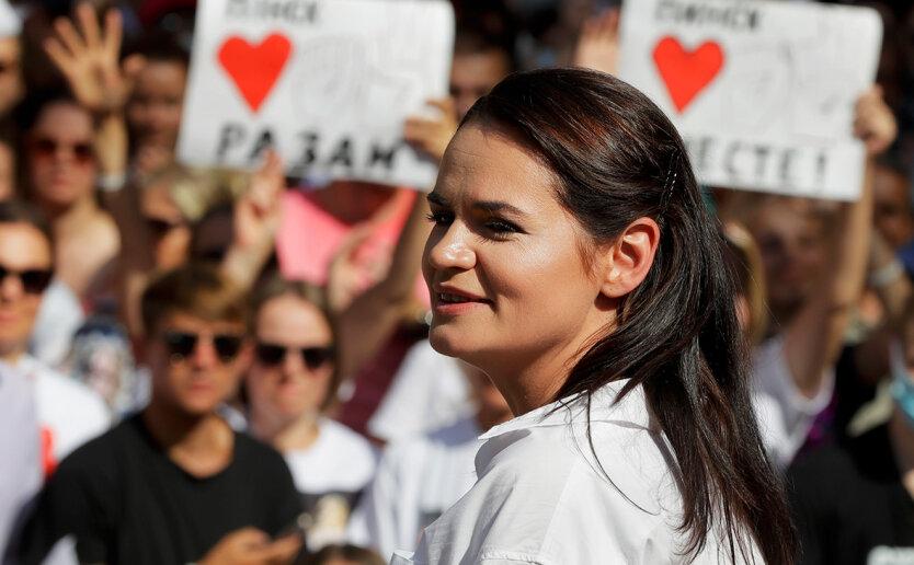 Светлана Тихановская, александр лукашенко, майдан в беларуси, выборы в беларуси