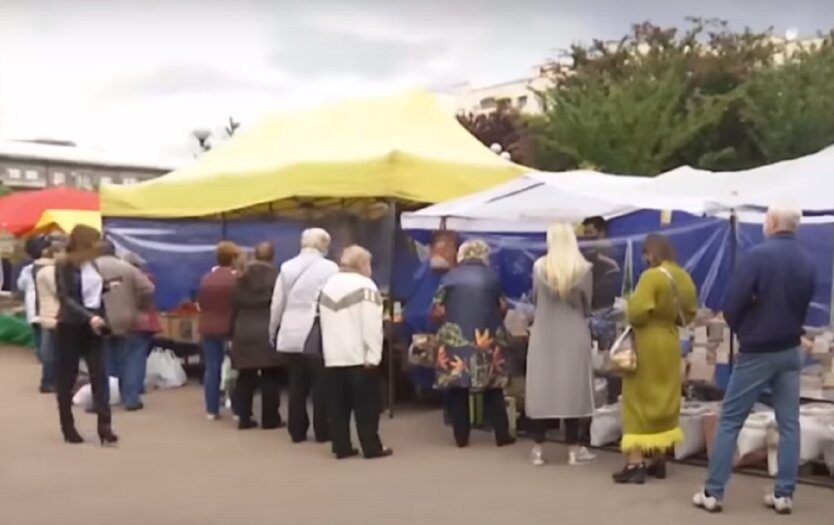 Запрет на ярмарки в Киеве