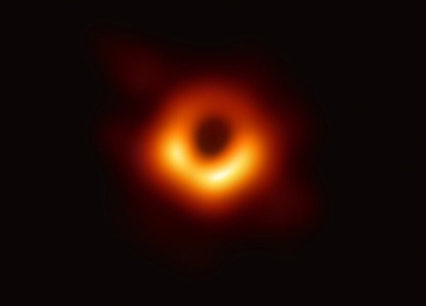 тень черной дыры