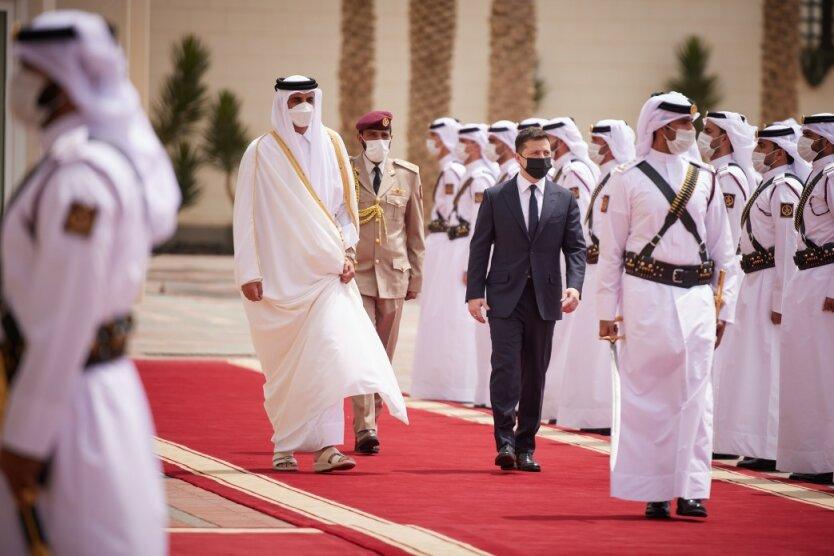 Аравийский разворот: анализ визита Владимира Зеленского в Катар и его результаты