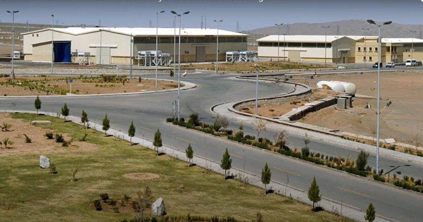 Ядерный объект в Натанзе, Иран
