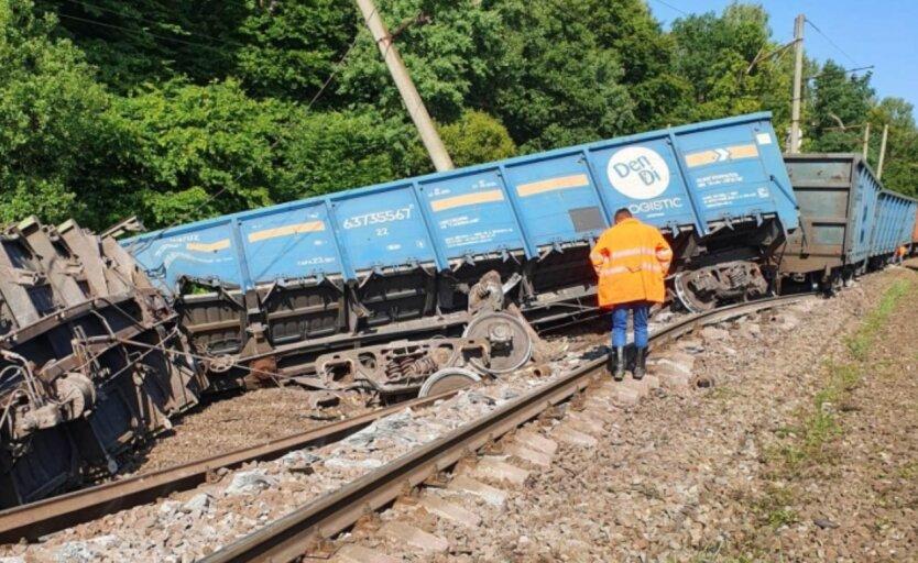 Сход поездов с путей, аварии, Укрзалізниця