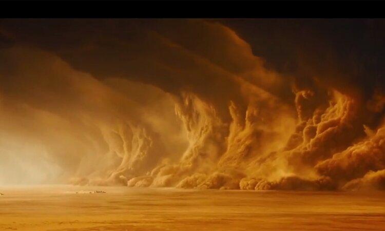 Марс_пылевые бури