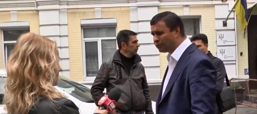 бывший народный депутат 8 созыва Максим Микитась