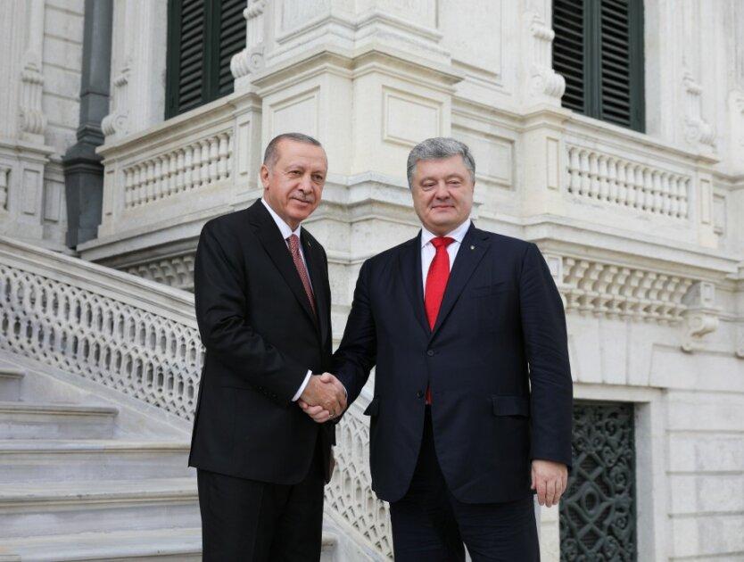 Петр Порошенко Реджеп Эрдоган