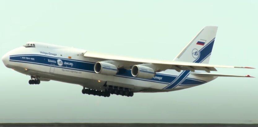 Самолет АН-124-100, Россия, Беларусь