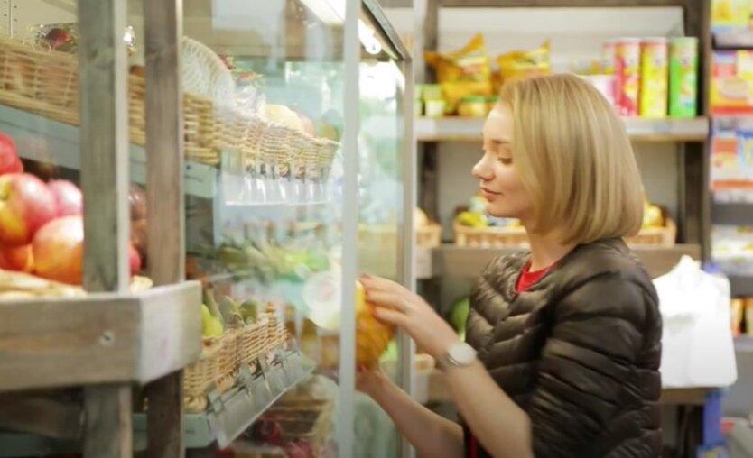 Цены на продукты в Украине