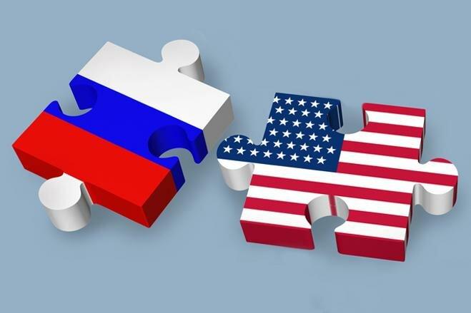 Россия США пазл