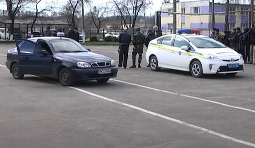 В Мукачево застрелился полицейский, охранявший бюллетени