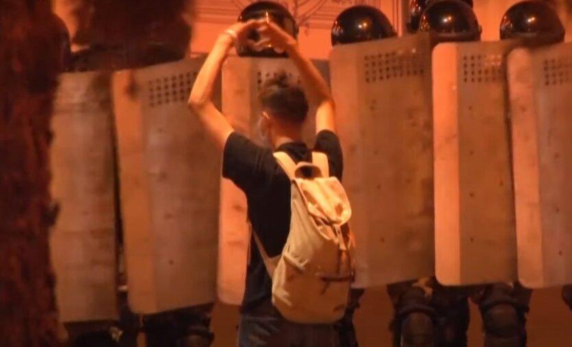 Задержанные в Беларуси,ОМОН Беларусь,Протесты в Беларуси,Акция протеста в Минске