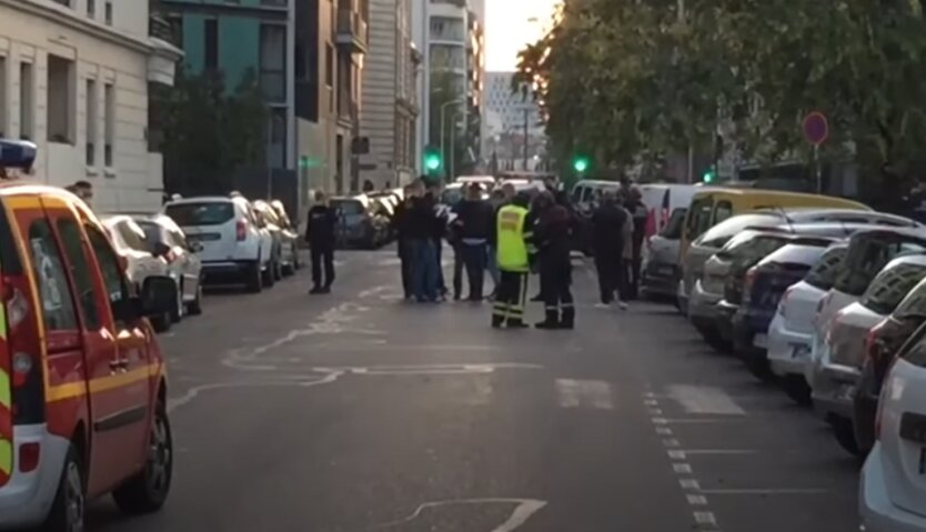 Стрельба, Лион, Франция, теракт