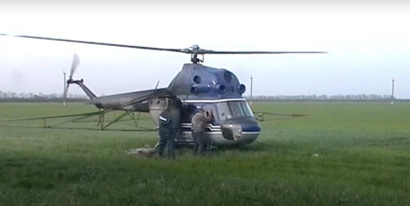 ми-2, крушение вертолета в Николаевской области