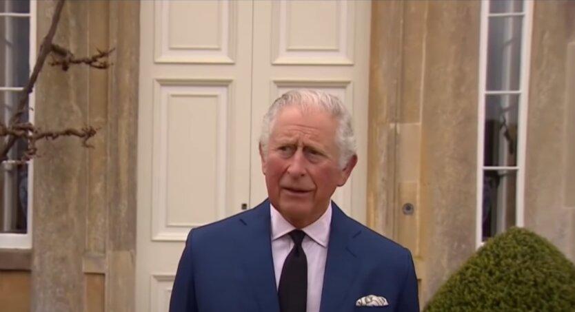 Принц Чарльз, принц Эдвард, королева Елизавета II