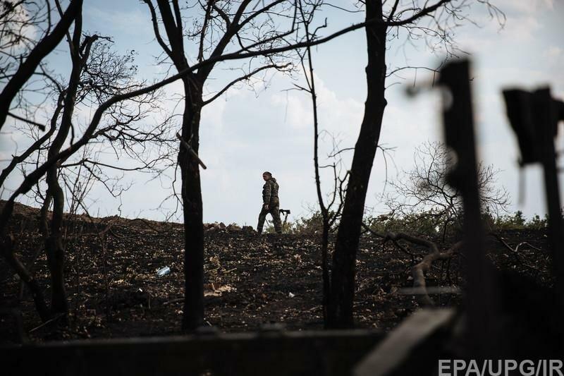 война бой смерть зона АТО