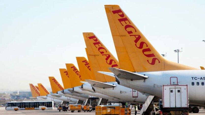 Самолеты Pegasus Airlines