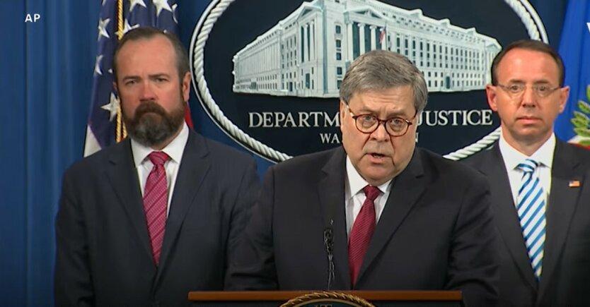 Уильям Барр, генеральный прокурор США, Apple , Россия и Китай