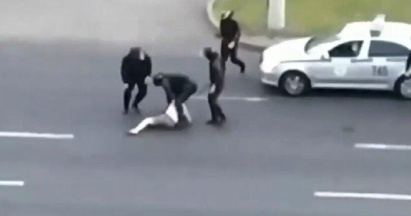 Избиение, задержание, ОМОН, Беларусь