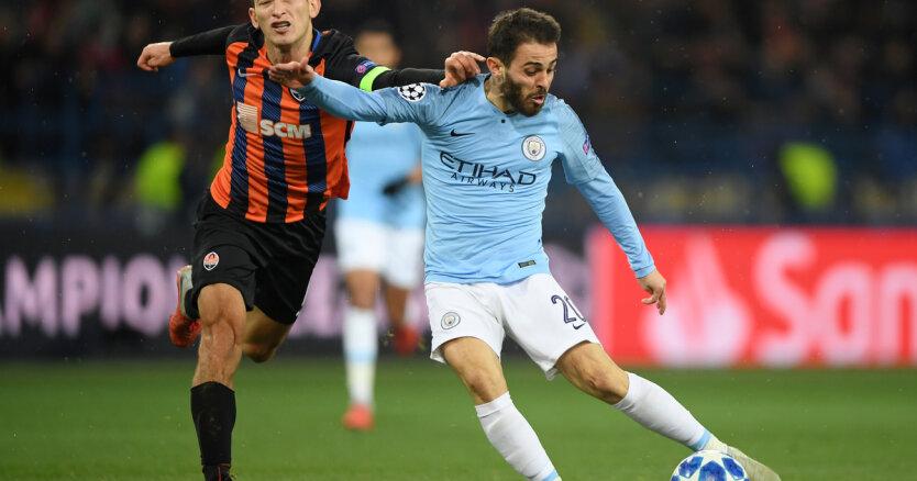 FC Shakhtar Donetsk v Manchester City — UEFA Champions League Group F