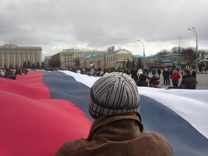 Сепаратисты в Харькове