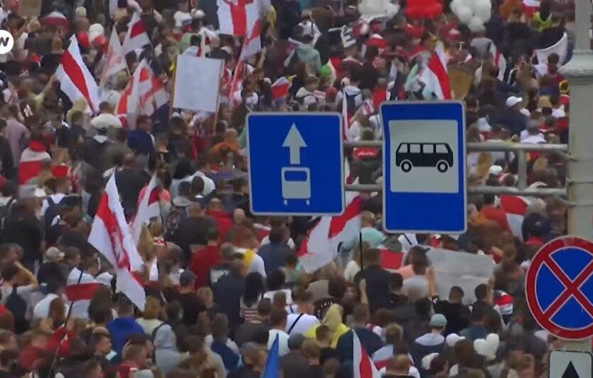 Протесты в Беларуси, Евросоюз, санкции