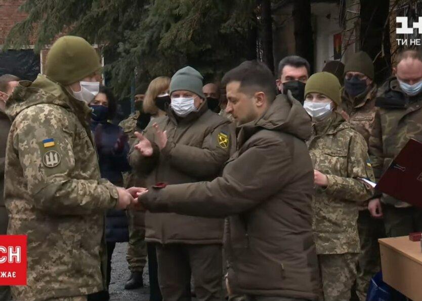 Владимир Зеленский, зона ОСС, Донбасс