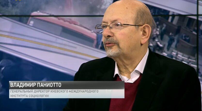Владимир Паниотто, опрос, Владимир Зеленский