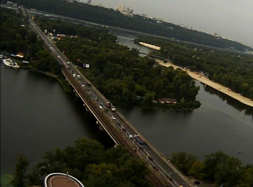 Мост Метро в Киеве, Киевавтодор, ограничения движения