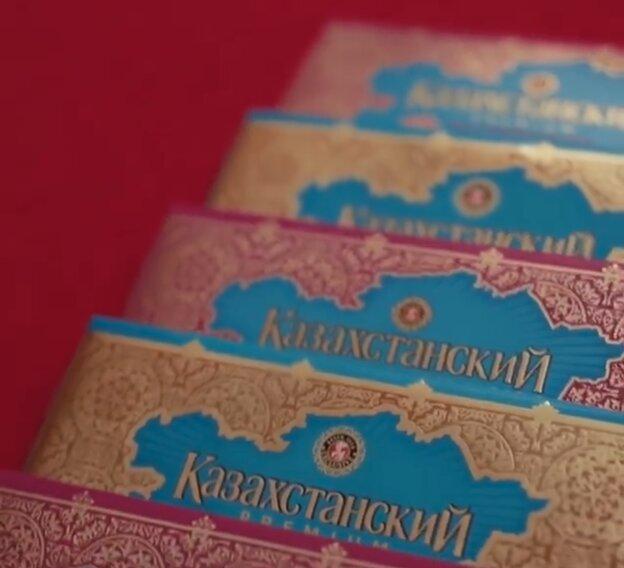 Казахстанские политики отправили в Госдуму РФ шоколад с картой на обертке, чтобы показать россиянам границы своего государства