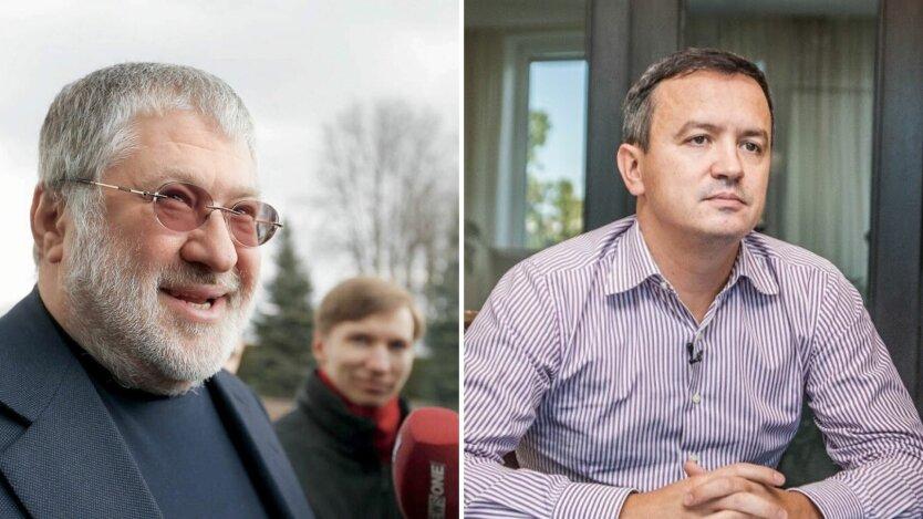Игорь Коломойский и Игорь петрушка