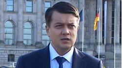Дмитрий Разумков, Верховная Рада Украины, Руслан Стефанчук, Замена Разумкова