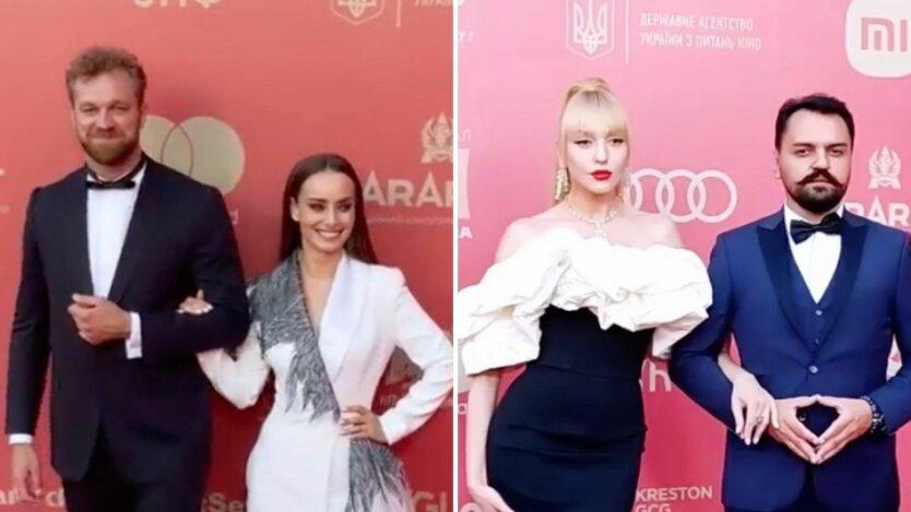 Мишина, Полякова, Сумская на красной дорожке: как прошло открытие Одесского кинофестиваля