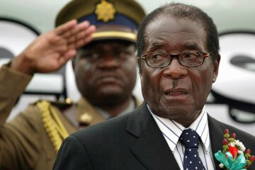 Экс-президент Зимбабве Роберт Мугабе