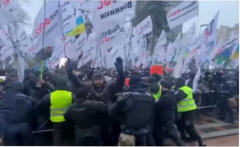 Протесты ФОПов в Украине, Михаил Саакашвили, Таможенная реформа, ФОП