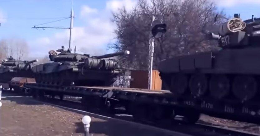 российские войска, Украина, наступление